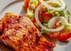 3 accompagnements printaniers pour viande et poisson  - Poisson et salade de légumes