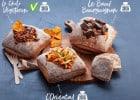 7 sandwiches que l'on ne trouve qu'au Pomme de Pain  - Gamme Bouchée de Pain