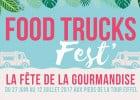 Agenda gastronomie : le Food Trucks Fest' à Paris  - Food Trucks Fest'