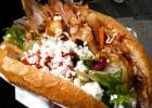Alors, le kebab, calorique ou pas ?   - Pain garni de viande de kebab