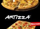 Artizza et Sublim'Curry Domino's Pizza  - Pizza Artizza