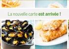 Au déjeuner, immergez-vous dans l'univers de Leon de Bruxell  - Plats de Léon de Bruxelles