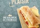 Avalanche de poulet et de fromage chez Brioche Dorée  - Toasté savoyard Brioche Dorée