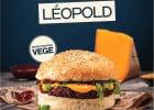 Big Fernand vous fait manger léger !  - Burger Végétarien Léopold
