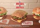 Bread and America Mc Donald's  - 3 burgers américains signé McDo