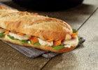 Brioche Dorée au service de la santé   - Sandwich et légumes