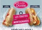 Brioche Dorée : recettes de sandwiches d'hiver  - Les Toastés Savoyards