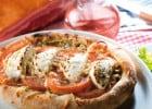 Bruschetta chez La Piazza Papa  - La pizza Bruschetta Pastorale