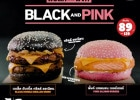 Burger King Thaïlande honore le girl group Blackpink  - Black and Pink