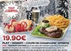C'est Noël dans les restaurants Buffalo Grill  - Menu de Fête Buffalo Grill
