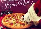 C'est Noël dans les restos Pizza Hut  - Pizza de Fête