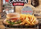 Canada Spirit Buffalo Grill  - Un menu de plats canadien chez Buffalo