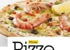 Carte printemps-été 2013 Del Arte  - Une pizza spéciale Del Arte