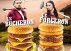 Ces burgers de Speed Burger que vous ne pourrez pas finir  - Le Bucheron et le Forgeron