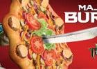 Cheeseburger pizza chez Pizza Hut  - Majesty burger
