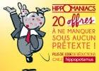 Chéquier Hippomaniacs chez Hippopotamus  - Chéquier Hippomaniacs