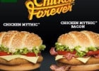Chicken Forever chez Mc Donald's  - Les 2 burgers Chicken Forever