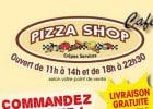 Commander des pâtes chez Pizza Shop  - Le café Pizza Shop