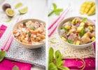 Commandez les Céviches de Planet Sushi au déjeuner  - Gamme de Ceviches