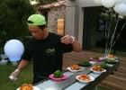 Cours de cuisine avec Côté Sushi  - Kaiten dans un jardin