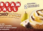 Cream ball choko-poire chez KFC  - Kream Ball Choko Poire