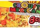 Crousti Mexicana La Boîte à Pizza  - Crousti Mexicana