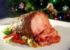 De la viande in vitro dans les fast-foods    - Rôti et légumes sur assiette
