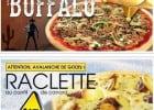 De nouvelles recettes La Boîte à Pizza  - La pizza Buffalo avec du boeuf haché