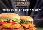 De nouvelles spécialités au poulet chez KFC  - Double Stacker