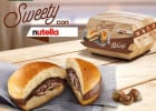 Des burgers au Nutella, c'est seulement chez McDonald's  - Burger au Nutella