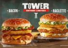 Des burgers géants à KFC  - Tower bacon et raclette