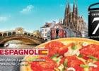 Des éditions limitées à La Boite à Pizza  - La pizza Espagnole à base de fruits de mer