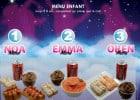 Des menus adaptés aux enfants chez Nina Sushi  - Présentation Menus Enfants