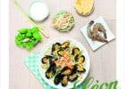 Des moules à la sauce asiatique chez Léon de Bruxelles  - Wok Soleil Levant