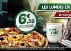 Des pizzas à petit prix tous les lundis chez Tutti Pizza  - Pizza à petit prix