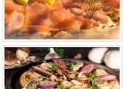 Des pizzas de Noël à La Boîte à Pizza  - Foie gras et saumon sur pizzas
