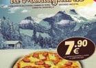 Des pizzas garnies de pommes de terre chez Pizza City  - La Montagnarde