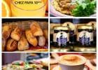 Des plats du sud-ouest au déjeuner sur les tables Chez Papa  - Brunch du dimanche Chez Papa