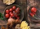 Des recettes italiennes végétariennes chez Francesca  - Tomates napolitaines, piments oiseaux ...