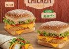 Des sandwiches au poulet chez Mc Donald's  - 3 sandwiches Southern Chicken