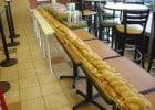 Deux sandwiches géants chez Subway d'Anger  - Un méga sandwich