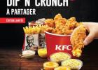 Dip'N'Crunch, à découvrir chez KFC jusqu'au 29 mai  - Dip'N'Crunch