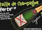 Du champagne à table au Bistro Régent  - Bouteille de champagne Castellane