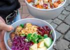 Green is better: un repas léger en cette fin d'été 2019  - Bols de salade