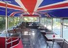 Hambusger, des burgers en bus  - Cadre intérieur consommation sur place