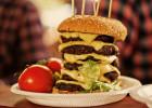 Insolite : un burger de 3 kg  - Burger géant