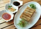 Insolite : un resto Dragon Ball Z ouvre au Japon  - Rouleaux de printemps