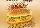 KFC et son Double Sweet & Fire  - Double Sweet & Fire