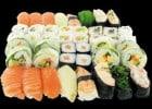 La carte estivale O'Sushi  - Assortiment de sushis, sashimis, makis ...