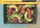 La carte hiver 2020-21 de la Boulangerie Ange  - Salade végétarienne pour l'hiver